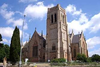 [St.Saviours Goulburn, Anglican cathedral, 1874, NSW, Australia]